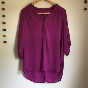 Pure energy oversized blouse